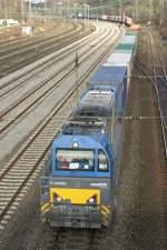 BR 212/41832/eine-g2000bb-im-einsatz-hgk-durchfaehrt Eine G2000BB im Einsatz HGK durchfährt am 22.11.09 Duisburg-Entenfang